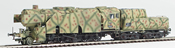 German Steam Locomotive BR 42 of the DRB WWII Summer Ambush Camo (SOUND)